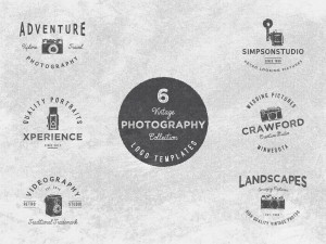 PHOTOGRAPHY LOGO SET